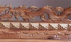 Dragon Carving
